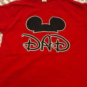 1404473d Gildan Tops   Mom And Dad Disney Shirts   Poshmark